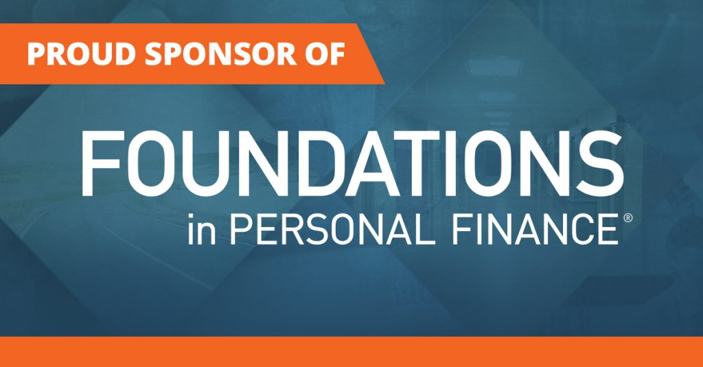 Sponsor of Foundations in Personal Finance